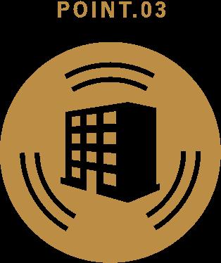 高性能な建物による安心の提供
